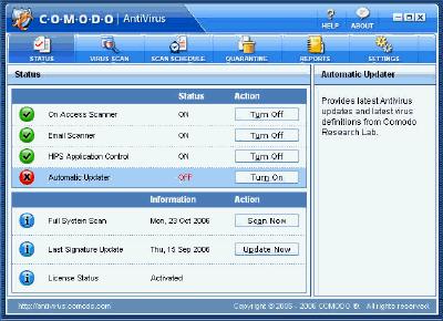 Free Comodo AntiVirus