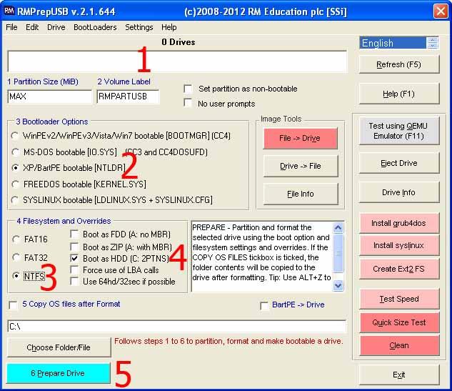 تثبيت الويندوز Xp 7 8 من الفلاشة Winsetupfromusb 10